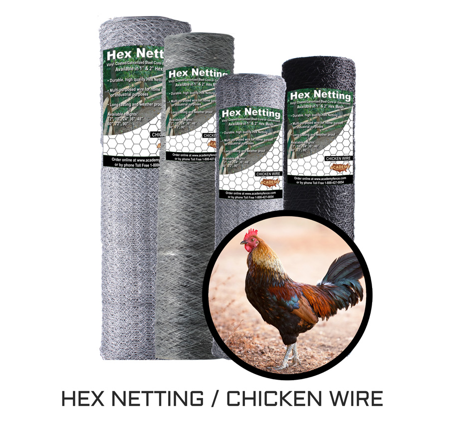 Hex netting, chicken wire category