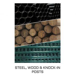 Steel, Wood & Knock-inPosts